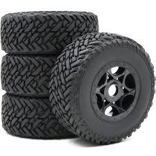 <b>4pcs RC 1/8 Buggy</b> Off Road Short Course Tires & Hex 17mm ...