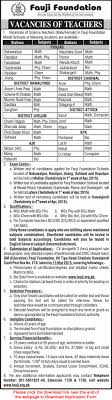 fauji foundation school jobs 2015 teaching application bio fauji foundation school jobs 2015 teaching application bio data form latest