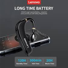 <b>Lenovo HX106 Wireless Headphone</b> BT5.0 Ear Hook Business ...