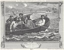 industry and idleness plate 5 the idle prentice turn d away and sent to sea edit