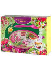 "Чай <b>Hilltop Набор</b> ""Розовые тюльпаны"" Чай Цейлонское утро ..."