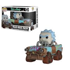 Купить «<b>Фигурка Funko POP</b>! <b>Rides</b>: Rick and Morty: Mad Max Rick ...