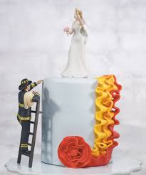 Firefighter Cupcake Decorations Similiar Firefighter Cake Topper Keywords