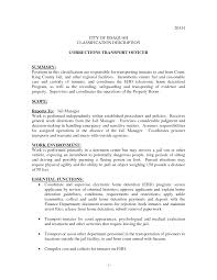corrections officer resume summary cipanewsletter cover letter resume for correctional officer resume for prison