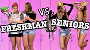 high school freshman year vs senior year high school freshman year vs senior year