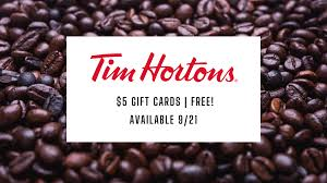 Free Tim Hortons Gift Cards Available – Graduate Student Association