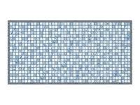«<b>панель декоративная пвх</b> мозаика лазурь 485х960 мм ...