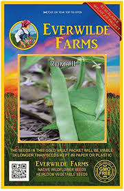 120 Roma II Green Bean Seeds - Gold Vault Jumbo ... - Amazon.com