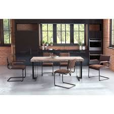 Home, Furniture & DIY Set of 2 Modern <b>Cantilever Dining Chairs</b> ...