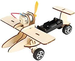 BYyushop <b>DIY</b> Assembly <b>Airplane</b> Model Toy for Kids,<b>Electric</b> ...