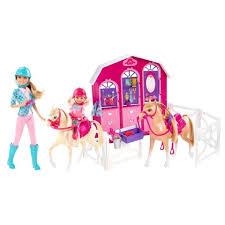<b>Игровой набор</b> Барби Конюшня <b>Barbie</b> — купить в интернет ...