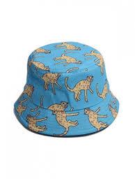 [20% OFF] <b>2019 Unisex</b> Animal Print Chic Bucket <b>Hat</b> In BLUE ...