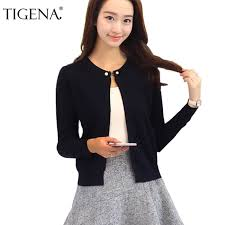 TIGENA <b>Knitted Cardigan Women 2019</b> Spring Autumn Long Sleeve ...