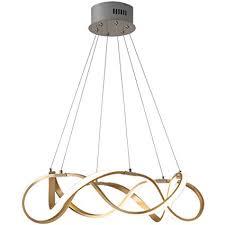 <b>Postmodern LED</b> Lustre Aluminum Acrylic Chandeliers Nordic ...