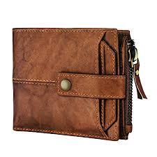 Buy Spiffy® Brown <b>Genuine</b> Hunter <b>Leather Wallet</b> for <b>Men</b> with ATM ...