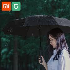 Оригинальный <b>Xiaomi Mijia</b> Автоматический <b>Зонт</b> Солнечный ...