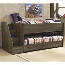 signature design by ashley juararo twin loft bed w left steps caster bed ashley unique furniture bunk beds