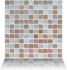 Floor & Wall Tiles <b>Self</b>-<b>Adhesive Mosaic Backsplash Sticker</b> Decal ...