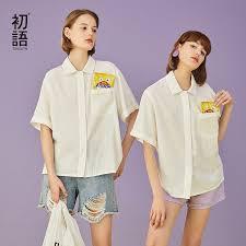 Toyouth <b>2019</b> Women Summer Blouse <b>Casual Half Sleeve</b> Loose ...