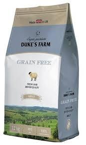 Корм для собак <b>DUKE'S</b> FARM ягненок 12 кг — купить по ...