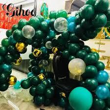 Dark green balloon <b>30pcs</b>/<b>lot 10</b> inch 2.3g round latex balloons ...