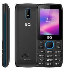 Мобильный <b>телефон BQ</b> Voice <b>2400L</b>, черный/синий, отзывы ...