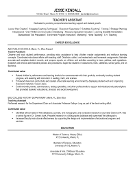 teacher assistant resume template teaching portfolio linked in cover letter teacher assistant resume template teaching portfolio linked in sample for teacher career excellence and