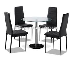 4 chair kitchen table: round glass dining table and  chairs round glass dining table and  chairs suppliers and manufacturers at alibabacom