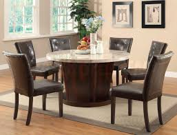 designs sedona table top base: round rustic dining room table and chair design ideas marble top table