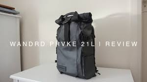 <b>WANDRD PRVKE 21L</b> | Review | Our new favourite Travel Camera ...