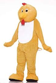 Forum Deluxe Plush Chicken Mascot Costume ... - Amazon.com
