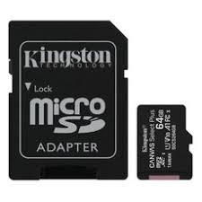 <b>Карта памяти Kingston microSDXC</b> 64Gb Class 10 Canvas Select + ...