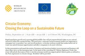 circular economy closing the loop on a sustainable future world eu in the us euintheus