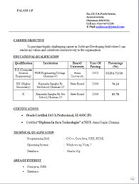 Mca Fresher Resume Sample Resume Sample Doc By Jamsheer Resume Latest Resume Format For Mca Freshers     Incident Report Template
