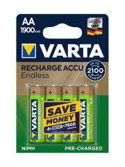 Аккумуляторы VARTA ENDLESS ENERGY AA 1900mAh (4 шт ...