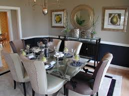 dining room khaki tone: traditional dining room by laura bendik interiors