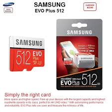 <b>Original Samsung EVO</b> Plus 512GB MicroSDXC <b>Memory</b> Card with ...
