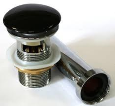 <b>Донный клапан Melana T201B</b> цвет чёрный