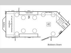 Ice Castle Fish Houses Fish House   RV Sales   FloorplansIce Castle Fish Houses Bobbers Down