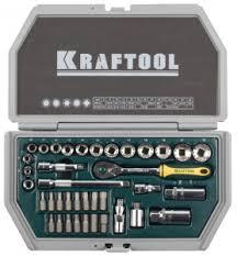 <b>Набор инструментов</b> KRAFTOOL 27973-Н38-1 набор торцевых ...