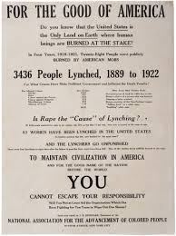 "lynching in america ca 1926 the gilder lehrman institute of naacp ""for the good of america"" broadside ca 1926"
