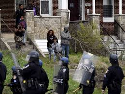 Image result for police image poor neighborhoods