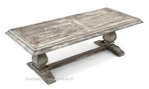 base dining trestle reclaimed wood