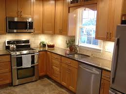 appealing shaped kitchen layout