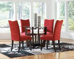 Red Dining Room Sets Dining Room Red Leather Dining Chairs Room Design Amazing 28 Red