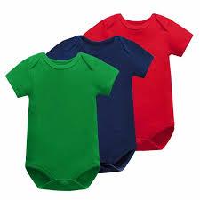 <b>5Pieces</b>/<b>Lot Baby Bodysuit</b> Boy Girl Baby Clothing short sleeve ...