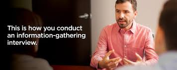 this is how you conduct an information gathering interview swoon this is how you conduct an information gathering interview