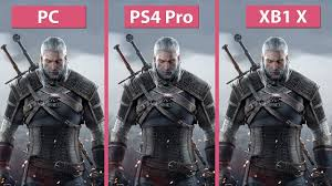 [4K] Witcher <b>3</b> – <b>PC</b> vs. PS4 Pro vs. Xbox One X 4K Mode <b>Frame</b> ...