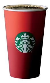 Image result for Starbucks red cup image