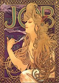 individual work essay – alphonse mucha and milton glaser   gabriel    alphonse mucha   job cigarettes
